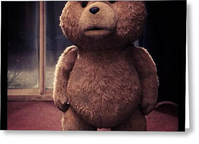 Ted Is Sad, Let's Give Him A Big Greeting Card