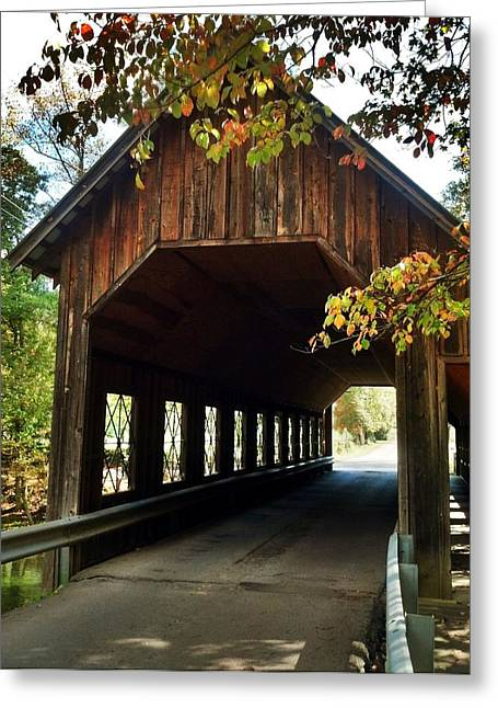 Greeting Card featuring the photograph Tennesse Covered Bridge by Janice Spivey
