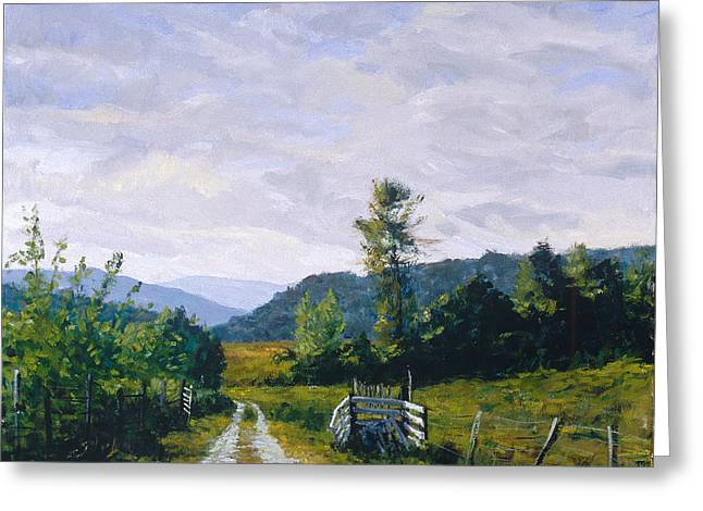 Tennessee Farm Greeting Card by Mark Lunde