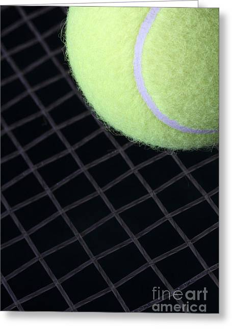Tennis Anyone Greeting Card by John Van Decker
