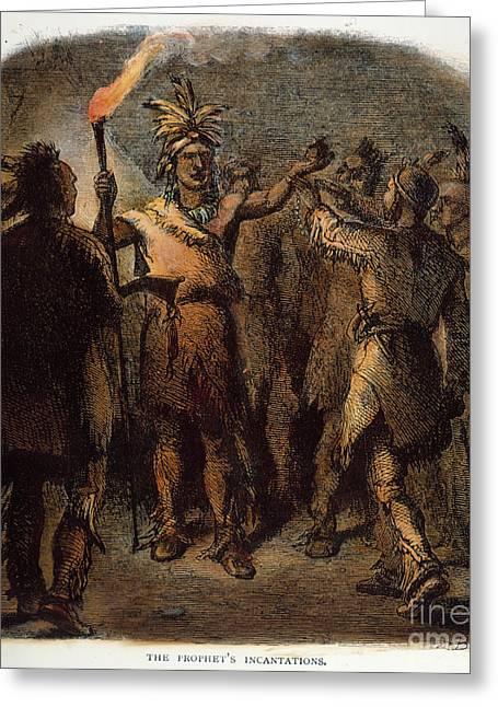 Tenskwatawa (c1768-1834) Greeting Card by Granger