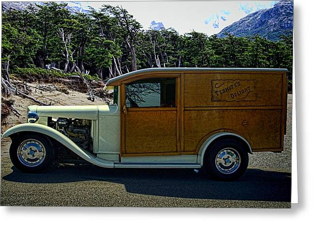 Termite Delight C1930 Ford Truck Greeting Card by Tim McCullough