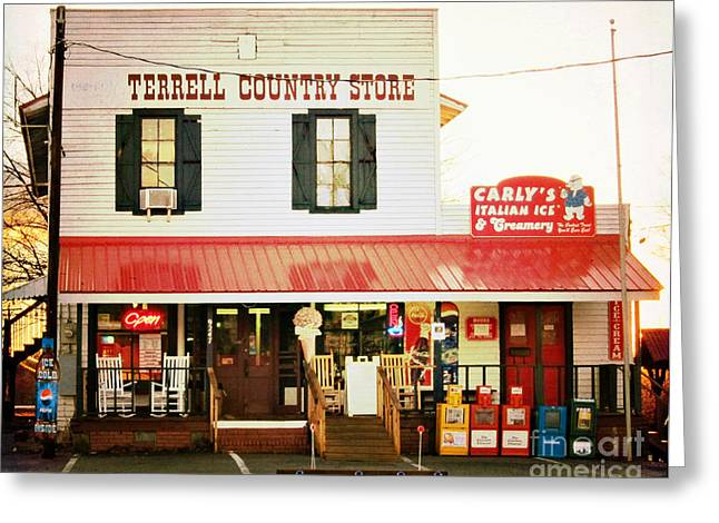 Terrell North Carolina Greeting Card by Kim Fearheiley