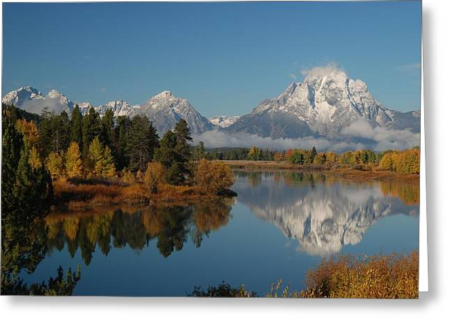 Teton Autumn Greeting Card by Craig Ratcliffe