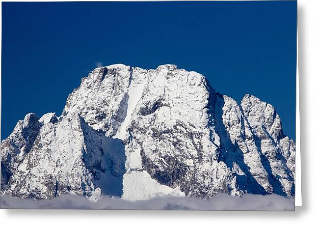 Teton Peaks Greeting Card