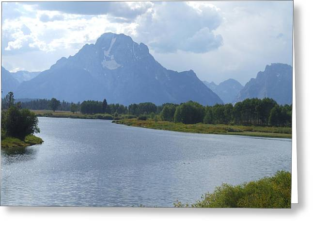 Teton Splendour Greeting Card