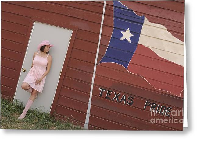 Greeting Card featuring the photograph Texas Pride by Sherry Davis