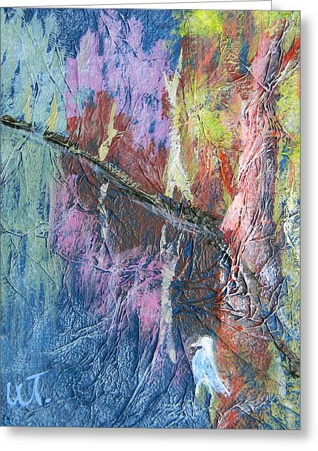 Texture Of Nature 1 Greeting Card by Warren Thompson
