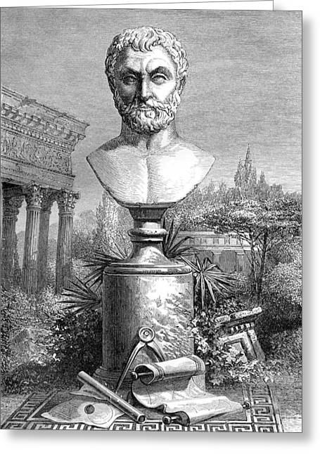 Thales, Ancient Greek Philosopher Greeting Card