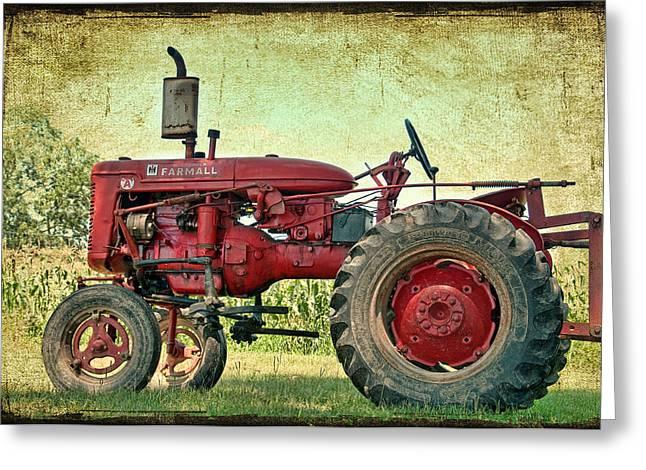 Thank A Farmer Greeting Card by Bonnie Barry