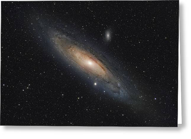 The Andromeda Galaxy Greeting Card by Rolf Geissinger
