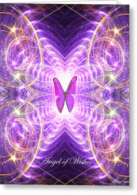 The Angel Of Wishes Greeting Card