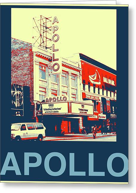 The Apollo Greeting Card by Marvin Blatt