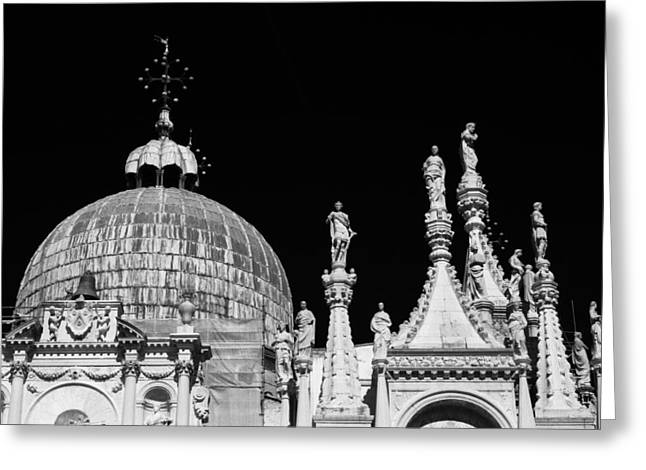 The Art Of Venice Greeting Card by Justin and Ambyr Henderson