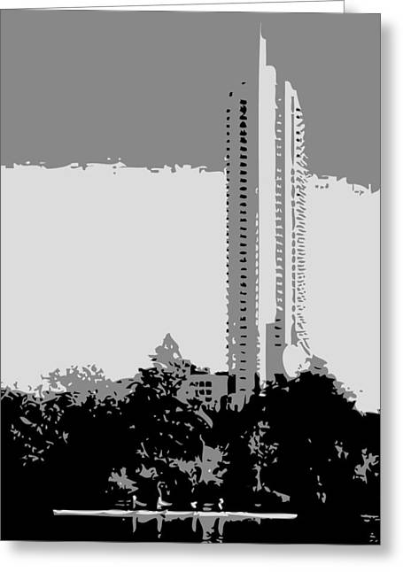 The Austonian Bw3 Greeting Card by Scott Kelley