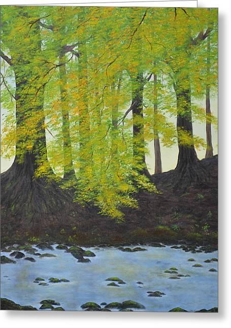 The Autumn Glen Greeting Card