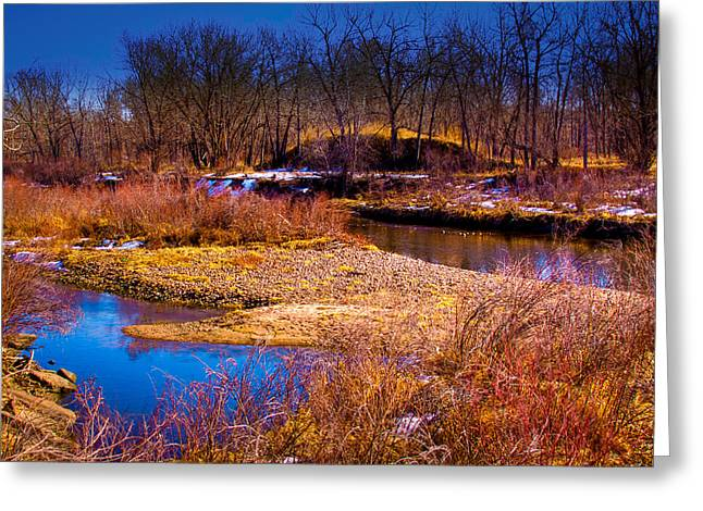 The Banks Of The South Platte River II Greeting Card