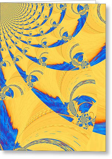 The Bark Of A Thousand Eyes Greeting Card by Mary Ann Southern