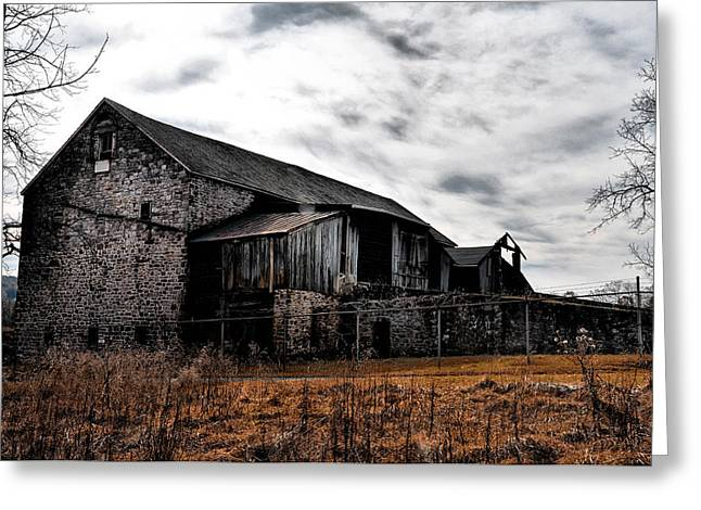 The Barn At Pawlings Farm Greeting Card by Bill Cannon