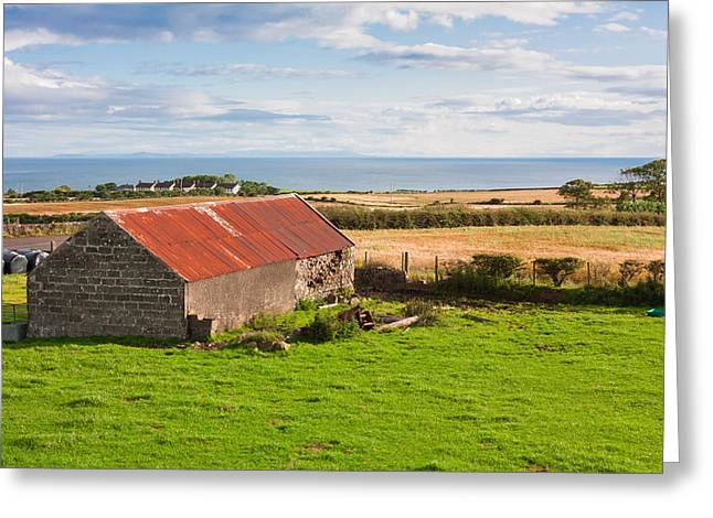 The Barn Greeting Card by Semmick Photo