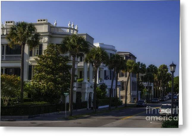 The Battery Charleston Sc Greeting Card