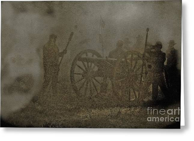 The Battlefield Greeting Card by Kim Henderson