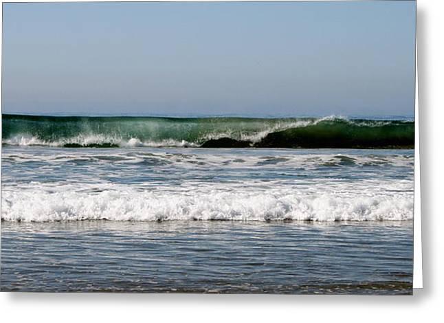 The Beach In Calabasas Ca Greeting Card