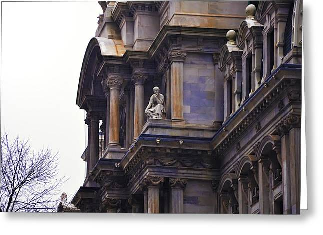 The Beauty Of Philadelphia City Hall Greeting Card by Bill Cannon