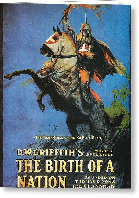 The Birth Of A Nation Greeting Card by Georgia Fowler