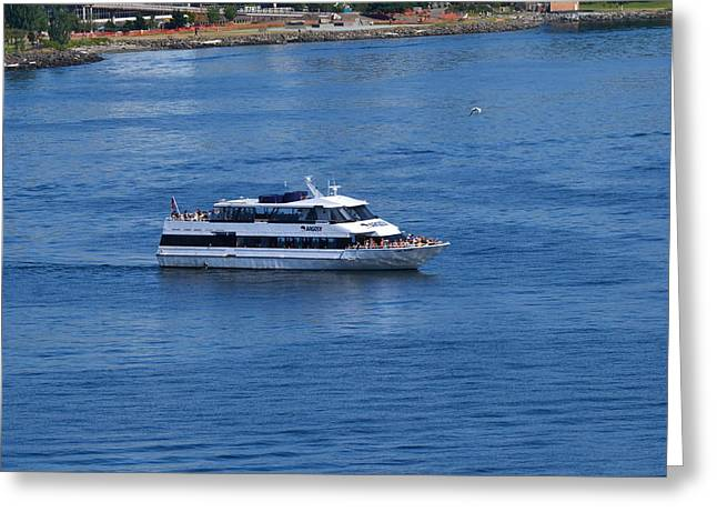 The Blue Of Puget Sound Greeting Card