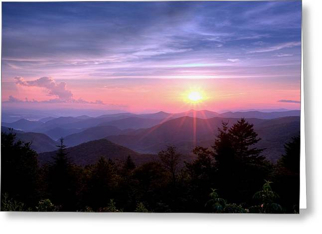 The Blue Ridge Greeting Card