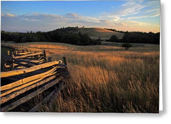 The Bluffs At Doughton Park Blue Ridge Parkway Greeting Card by John Harmon