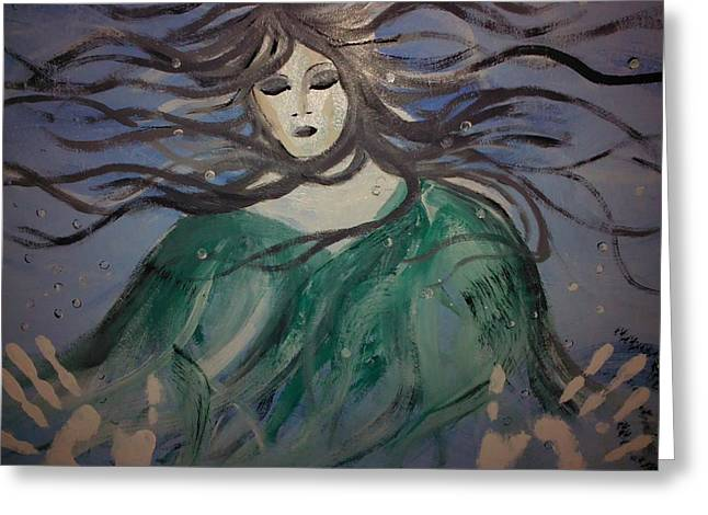 The Capture Of Haunting Beauty  Greeting Card by Ronald Mcduff