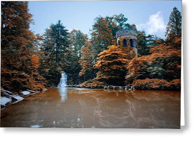 The Castle At Longwood Gardens Greeting Card