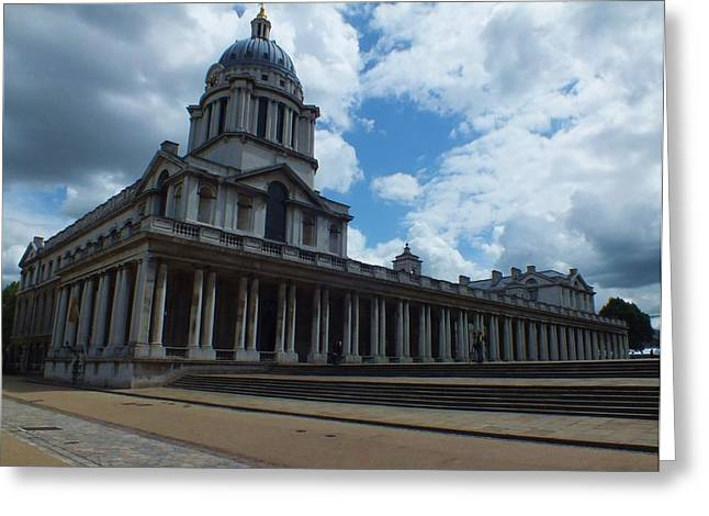 The Chapel At The Royal Naval College Greeting Card
