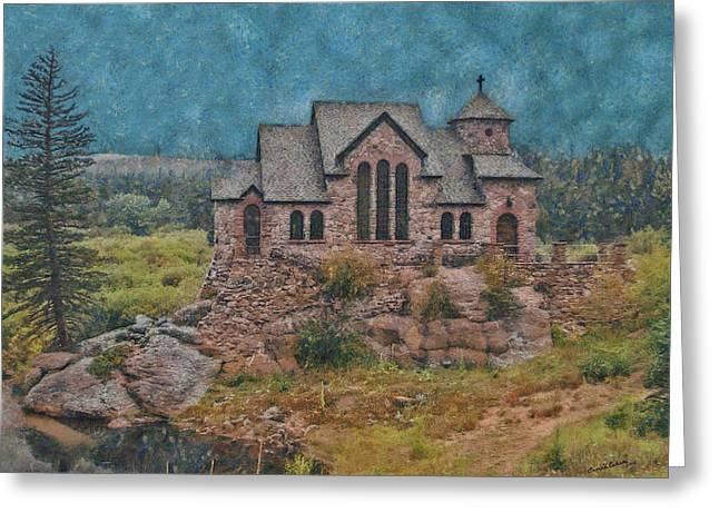 The Chapel Greeting Card by Ernie Echols