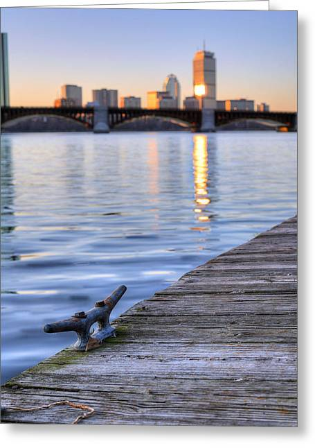 The Charles  Greeting Card by JC Findley