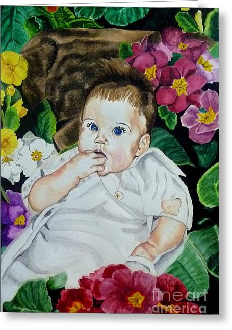 The Christening Greeting Card
