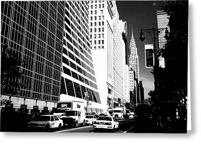 The Chrysler Building In New York City Greeting Card by Vivienne Gucwa