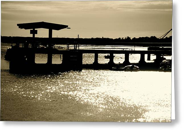 The Coastal Route Greeting Card by Jez C Self