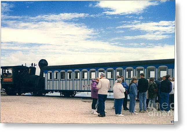 The Cog Railway Greeting Card