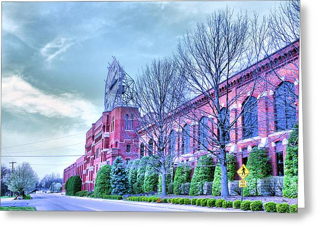 The Colgate-pamolive Company Building II Greeting Card by Steven Ainsworth