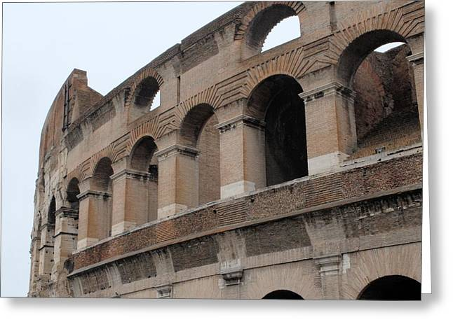 The Coliseum Greeting Card by