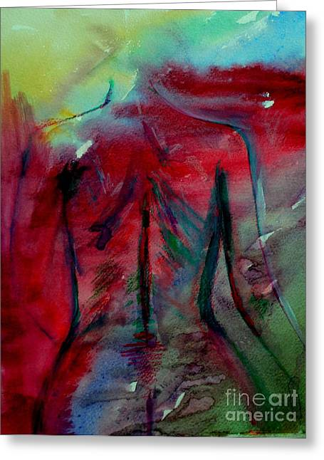 The Color Of Beauty Greeting Card by Julie Lueders