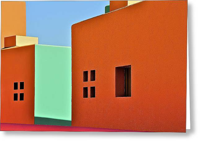 the Colors of Mexico Greeting Card