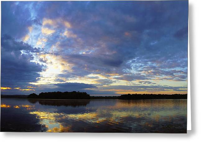 The Colors Of Morning  Greeting Card by John Ungureanu