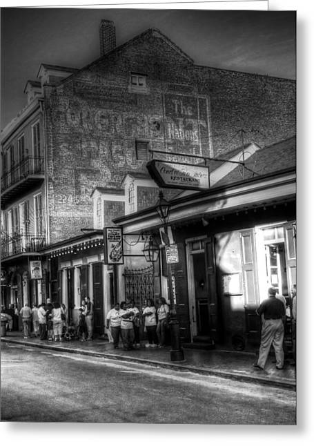 The Court Of Two Sisters Court Tavern Greeting Card