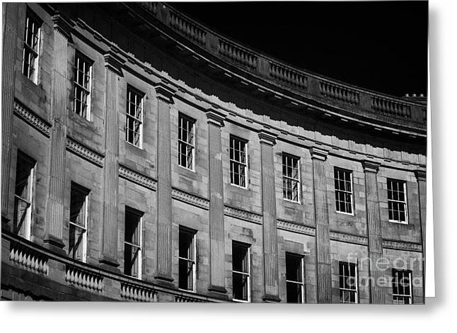 The Crescent Buxton Peak District Derbyshire Greeting Card