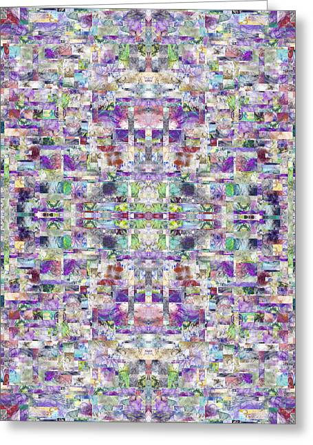 The Cross Fractal Greeting Card