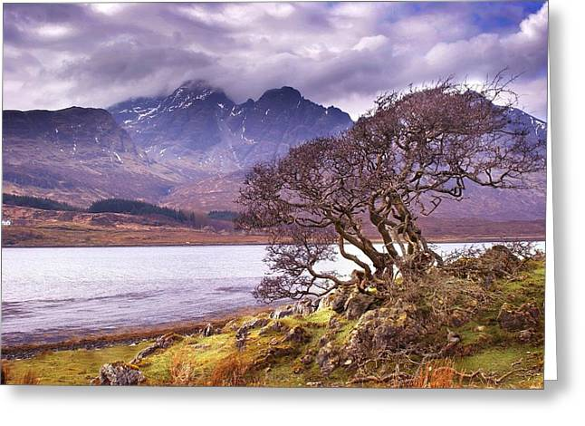 The Cuillins Skye Greeting Card
